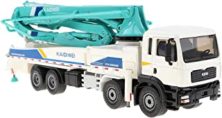 SM SunniMix Concrete Pump Truck Construction Equipment Vehicle Model Toy Car 1:55 Diecast Boxset