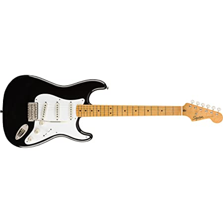 Squier by Fender Classic Vibe 50's Stratocaster - Maple Fingerboard - Black