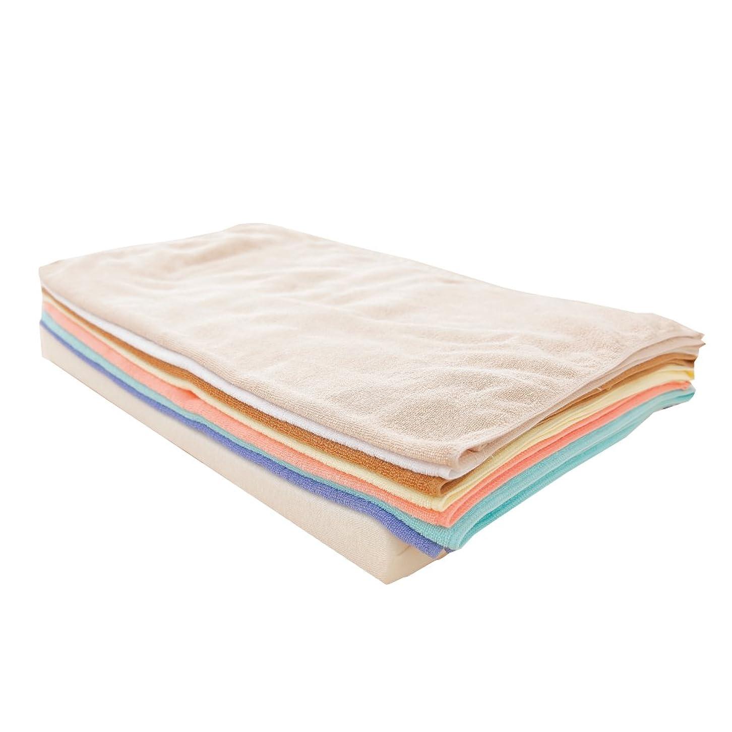 空サークル織機7バスタオルピロー タオル好き なあなたのための タオル枕 約59×36cm