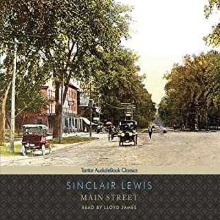 Main Street audiobook cover art