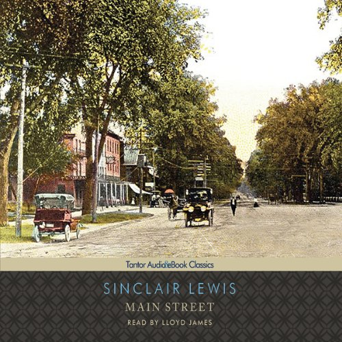 Main Street audiobook cover art