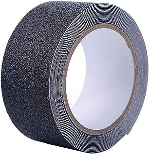 フェリモア 滑り止めテープ ノンスリップテープ 階段 転倒防止 梯子 脚立 防水 シール (ブラック)