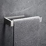 CCKOLE Portasciugamani senza foratura, in acciaio inox 304, anello per asciugamani autoade...