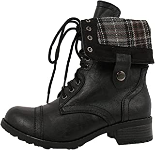 SODA Women's Oralee Military Boot