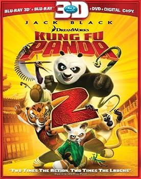 Kung Fu Panda 2  Blu-ray 3D/DVD Combo + Digital Copy