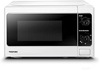 Toshiba 800 w 20 L Microwave Oven with Function Defrost and 5 Power Levels, Stylish Design – White - MM-MM20P(WH)