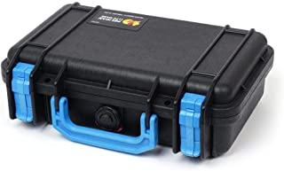 Pelican Black & Blue Pelican 1170 case with Foam.