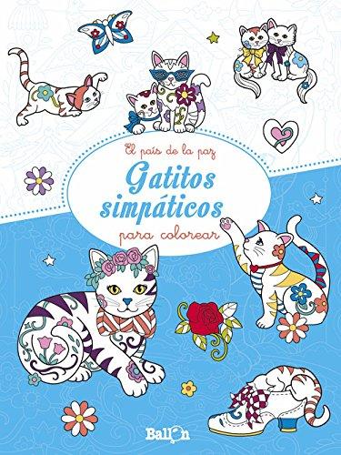 Gatitos simpáticos para colorear (El país de la paz)