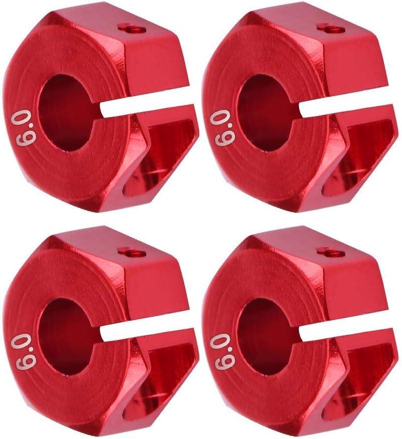 12mm Universal Wheel Hex Hub Adapter for HSP Sakura 1//10 Scale RC Car AYNEFY Wheel Hex Hub Adapter