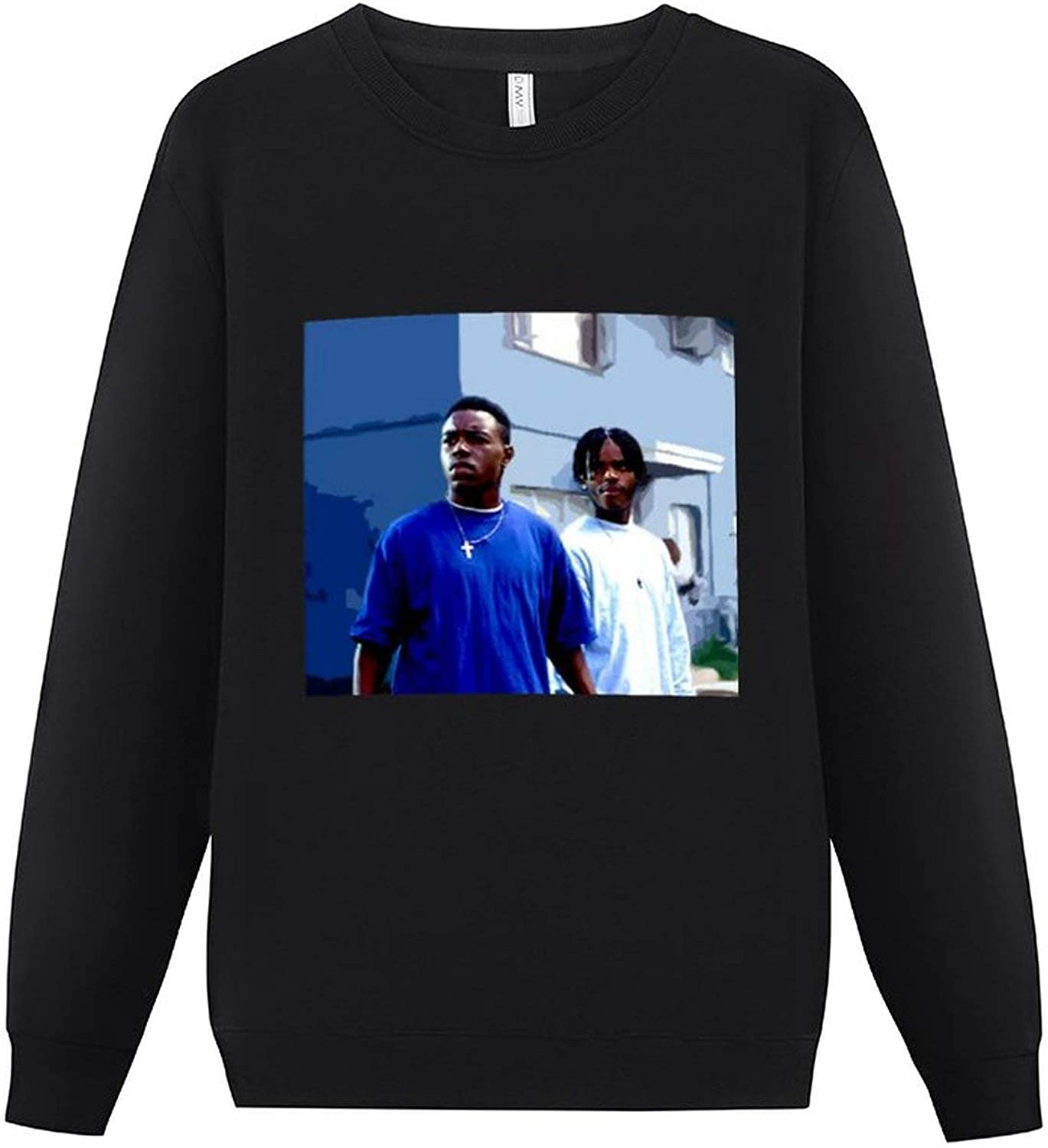 Menace II Society Roles Men's Long Sleeve Round Neck Pullover Sweater