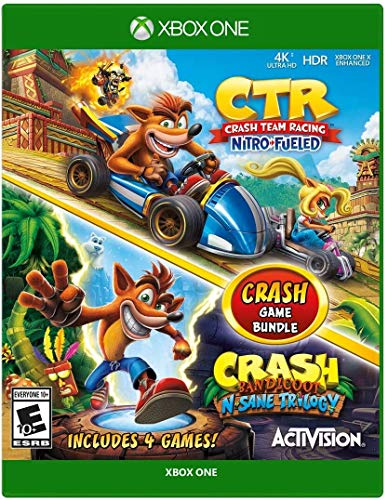 Crash Team Racing + Crash Bandicoot N.Sane Trilogy Bundle – Xbox One