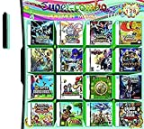 JPEEFER Cartucho de Juego para Nintendo DS 208 en 1 Juego Dakota del Norte S Game Card DS Game Game Compatible Super Group NDS DS 2D S Nuevo 3DS XL Nintendo 3DS Games Nintendo DS