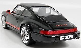 PoRSche 911 (964) Carrera RS, black/orange, 0, Model Car, Ready-made, GT spirit 1:18
