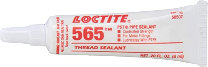 Loctite 565 442-56507 6ml PST Thread Sealant, Controlled Strength, White Color