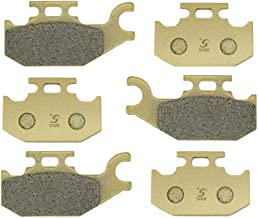 SYUU Motorcycle Replacement Front Rear Brake Pads Brakes for Can-Am Outlander 400 500 650 800 4x4 Renegade 500 800 2007-2012 FA307F FA317F FA307R
