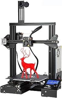Stampante 3D Creality Ender 3 con formato Open Source accessibile ed eccellente qualità di stampa, ripresa della stampa, grande formato di stampa