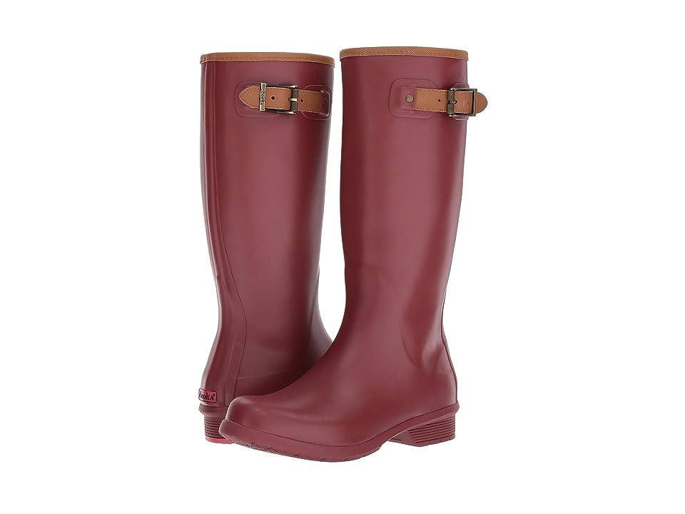 Chooka City Solid Tall Boot (Cayenne) Women