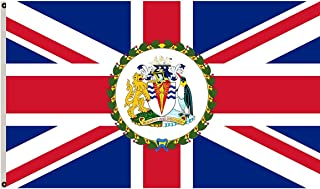 Fyon Commissioner of The British Antarctic Territory Flag British Antarctic Territory Flag Banner 5x8ft