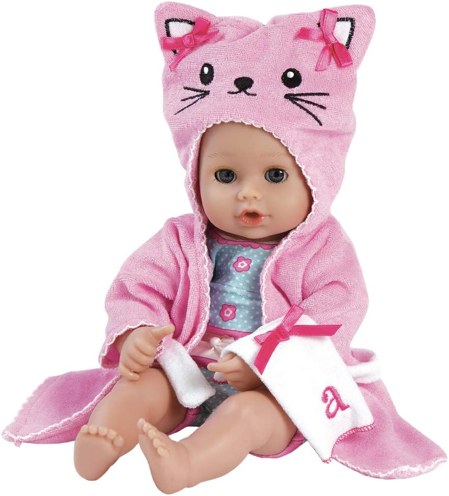 Adora Baby 2021 new Bath Toy Kitty 13 Doll QuickDri inch Time Spring new work with