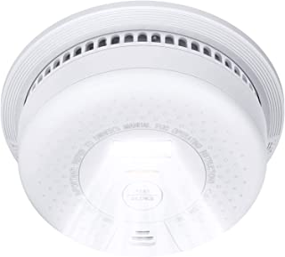 Smoke Detector with Escape Light, X-Sense SD01 10-Year Battery (Not Hardwired) Fire Smoke Alarm, Compliant with UL 217 Sta...