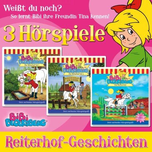 Reiterhof-Geschichten (Bibi Blocksberg) Titelbild