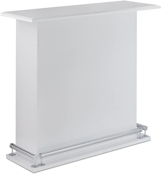 Acme Furniture Acme 72580 Kite Bar Table White One Size