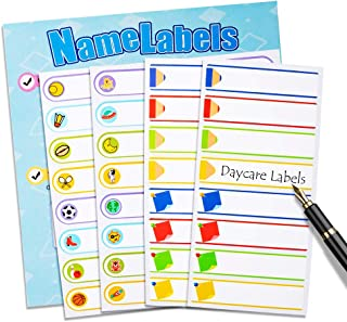 Baby Bottle Labels,Daycare Stickers, Write-On Self-Laminating Name Labels for Daycare,School,Travel 128 Personalized Labels