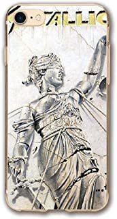 Slim Fit iPhone 7 Case and iPhone 8 Case Me-tallica-.and-Justice-for-All-Remastered Anti-Scratch Cover Case for iPhone 7 and iPhone 8