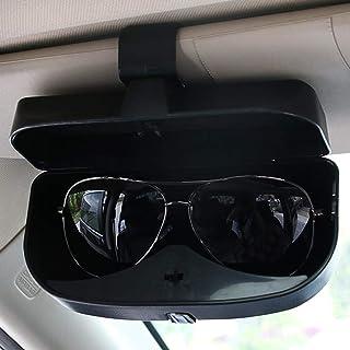 Creatividad Accesorios for el coche gafas de sol de la caja del sostenedor de los vidrios de la jaula Organizador de contenedores for Ford Focus Mk2 2005 a 2007 2008 2009 2010 2011 para organizador de