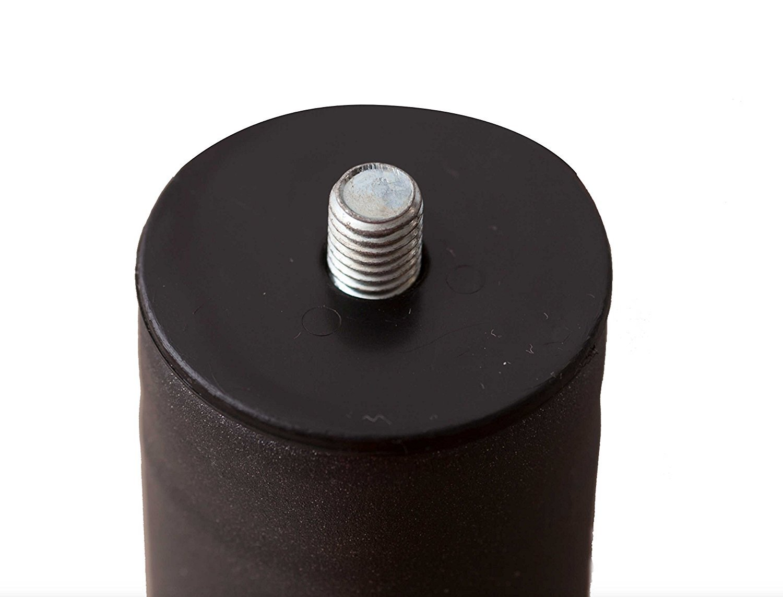 Pack 4 patas para somier o base tapizada cilÃndricas, con rosca 10 mm: Amazon.es: Hogar