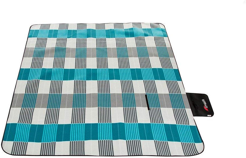 Foldable Beach Mat, Outdoor Camping Oxford Cloth Picnic Thick Waterproof Portable fold Moisture pad Tents mats Picnic Cloth