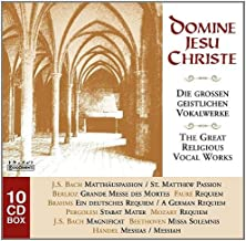 Domine Jesu Christe: The Great Religious Vocal Works