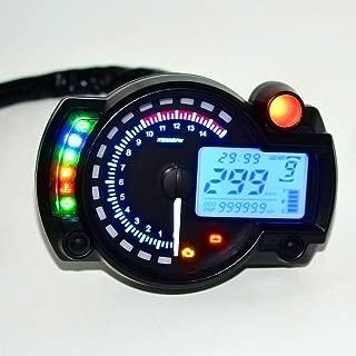Backlight LCD Digital motorcycle speedometer 12V ABS tachometer gear indicator velocimetro moto tacometro moto odometro moto