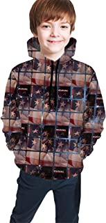 JohnMichelle Mens Hoodie Sweatshirt Mans Daily Hooded Sweater