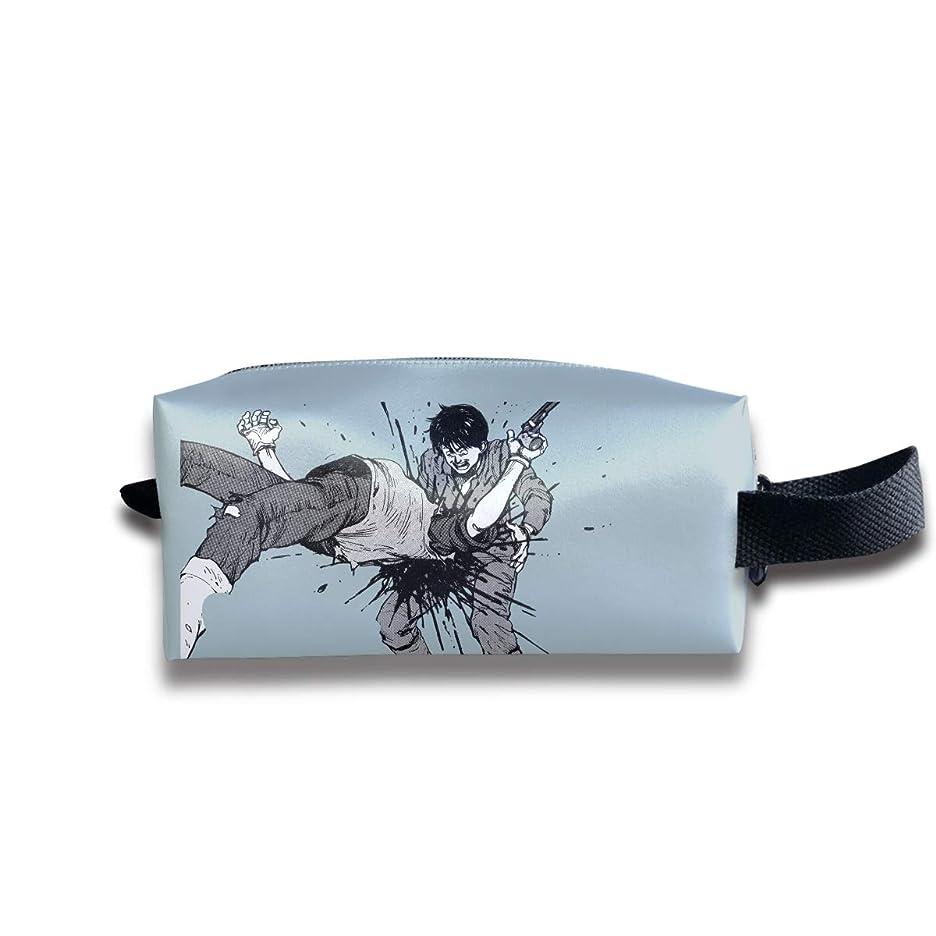 車シェフ東Akira アキラ 化粧ポーチ メイクポーチ コスメポーチ 軽い 防水 便利 小物入れ 携帯便利 多機能 ポータブル バッグ 化粧品収納