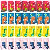 Bolsas de Fiesta Dinosaurios de Papel, 48 Bolsa de dulces de Dinosaurio Bolsas de Caramelos pequeñas de regalo de dinosaurio de dibujos animados, Bolsa de regalo de cumpleaños Infantil
