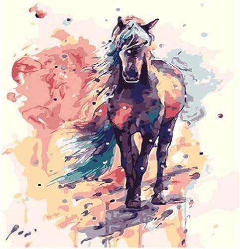 calidad de primera clase Diy Pintura Digital Horse A,60X75Cm Pintura Digital Lienzo Lienzo Lienzo Arte De La Parojo Obra De Arte Pintura De Paisaje Sala De Estar En Casa Oficina Decoración De Navidad Decoración Regalo De Los Niños Adultos  Centro comercial profesional integrado en línea.