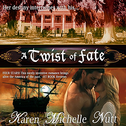 A Twist of Fate audiobook cover art
