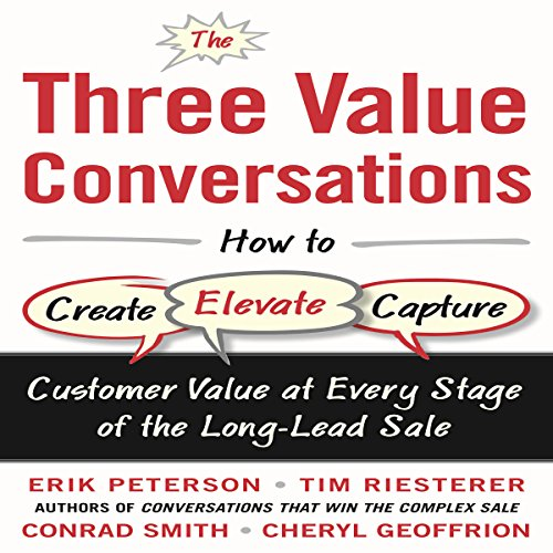 The Three Value Conversations audiobook cover art