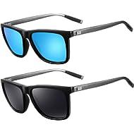 Sunglasses for Men Polarized Sunglasses - FEIDU Polarized Sunglasses UV400 Protective FD9003