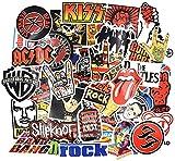 Riao-Tech 55pcs Rock Band Punk Music Vintage...