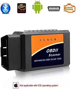 Giveet Car Bluetooth OBD2 Scanner-Wireless OBD Scan Tool Interface Scanner-OBDII Car Code Reader Check Engine Light Diagnostic Tool for Android  amp  Windows Devices