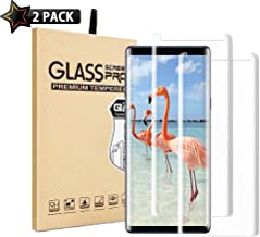 Galaxy Note 8 Screen Protector,[2 Pack] YAUXU Tempered Glass with Anti-Fingerprint, Bubble Free, 9H Hardness,HD Screen Protector Film for Samsung Galaxy Note 8