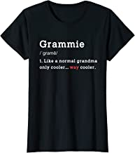 Womens Grandma Grammie Funny Meaning Birthday Mothers Day Xmas Gift T-Shirt