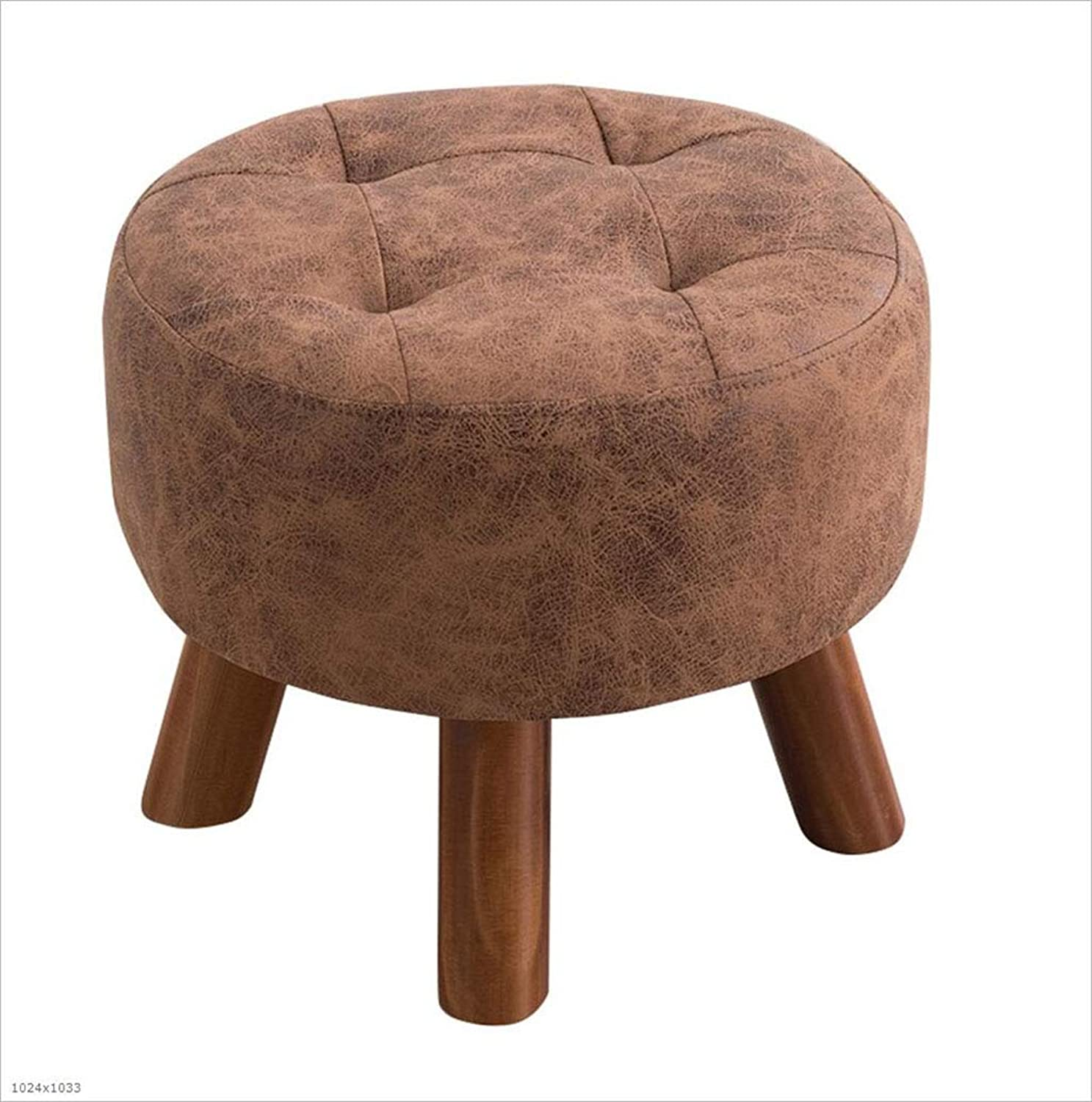 Replacement shoes Stool Solid Wood Stool Stool Fashion Sofa Stool Coffee Table Wearing shoes Sitting Pier,A