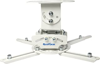 QualGear PRB-717-WHT Universal Ceiling Mount Projector Accessory,White
