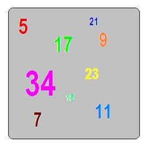 Después de pulsar el botón de inicio, el teléfono piensa en un número aleatorio entre 1 y 49. Se puede escribir el número y pulse el botón conjetura. El teléfono te dirá si tienes que adivinar más alta o más baja.