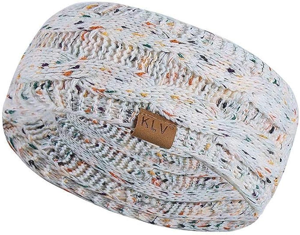 HGWXX7 Unisex Men Women Winter Warm Beanie Sport Hair Band Turban Skiing Knitted Cap Ear Warmer Headbands