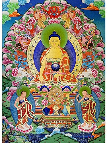 1000 Pieces Puzzles for Adults,Teens, Jigsaw Puzzle for Adults Buddha Buddhism Wood Jigsaw Puzzles,Classic Educational Game