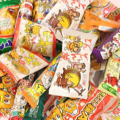やおきん・菓道の定番駄菓子 キャベツ太郎・うまい棒が入ったスナック菓子(全195コ) セット おかしのマーチ